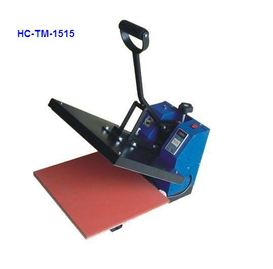 Manual heat press